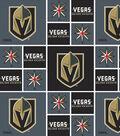 Vegas Golden Knights Cotton Fabric 43\u0027\u0027-Block
