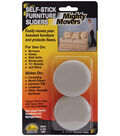 Mighty Movers Self-Stick Furniture Sliders 2.2\u0022 Round