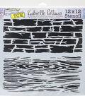 Crafter\u0027s Workshop Gabrielle Pollacco Template 12\u0027\u0027x12\u0027\u0027-Hard Textures