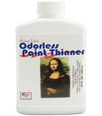 Mona Lisa Odorless Paint Thinner-16oz