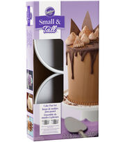 Wilton® Small & Tall Layered Cake Pan Set, , hi-res