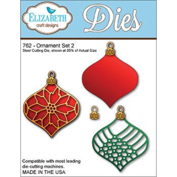 Elizabeth Craft Designs Metal Die Ornament Set 2