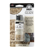 FolkArt® Glaze 2oz-Cream Puff, , hi-res