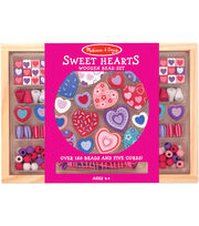 Melissa & Doug Sweet Hearts Bead Set, , hi-res