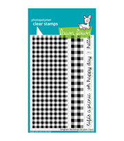"Lawn Fawn Clear Stamps 4""X6""-Gingham Backdrops, , hi-res"