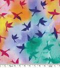 Keepsake Calico Cotton Fabric-Birds Multi