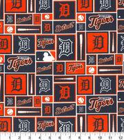 """Detroit Tigers Cotton Fabric 58""""-Patch, , hi-res"""