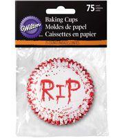 Wilton® Halloween 75 pk Baking Cups-RIP, , hi-res