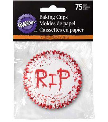 Wilton® Halloween 75 pk Baking Cups-RIP