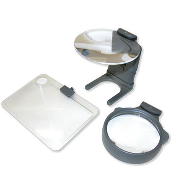 Carson Optical Hobby Magnifier with 3 lenses