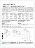 Mccall Pattern V8822 E5 (14-16--Vogue Pattern