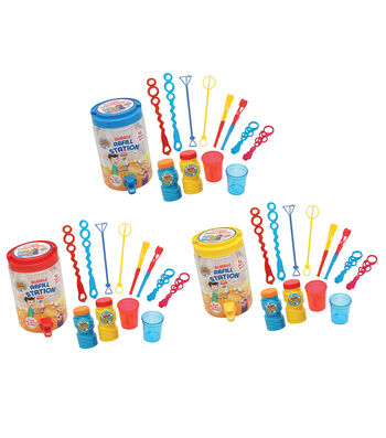 Super Miracle Bubbles 13 Pack Bubble Refill Station
