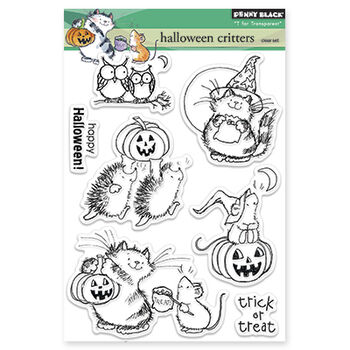 Penny Black Clear Stamps Halloween Critters