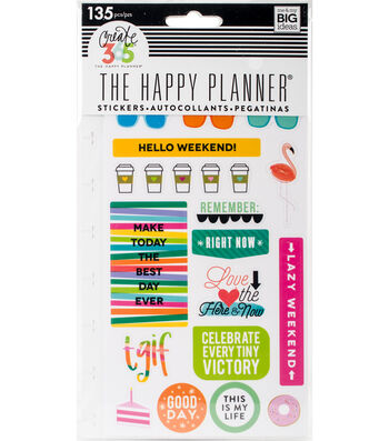 Create 365 Planner Stickers-TGIF
