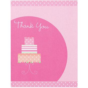 Wilton® 12pk Thank You Card Kit-Pink