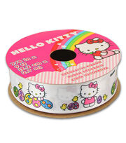 Hello Kitty® Easter Ribbon-Solid White W Eggs, , hi-res
