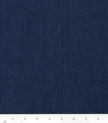 "Bottomweight 4oz Stretch Denim Fabric 57""-Dark Wash"