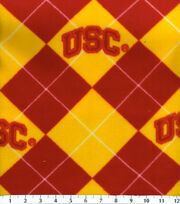 "University of Southern California Trojans Fleece Fabric 58""-Argyle, , hi-res"