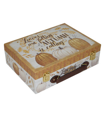 Organizing Essentials™ Small Luggage Box-Grateful Season