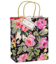 Anna Griffin Grace Floral Cub Gift Bag 4 Count, , hi-res