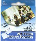 Self-Adhesive Photo Mounting Squares 250/Pkg