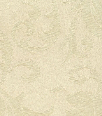 "Signature Series Solid Jacquard Fabric 54""-Cream"
