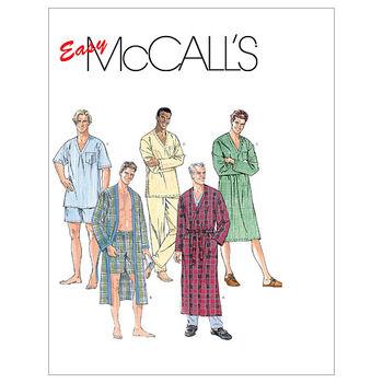 McCall's Mens Sleep & Lounge-M6231