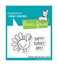 Lawn Fawn Clear Stamps 3\u0022X2\u0022-Turkey Day