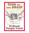 Design Originals Yoga For Your Brain Blank Tangle Cards