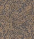 Waverly Upholstery Fabric 55\u0022-Burnished Scroll/Mica