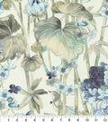 Waverly Upholstery Fabric 54\u0022-Peace Garden Lake