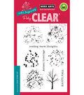 Fall Trees-hero Arts Clear Stmp