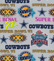 "Dallas Cowboys Cotton Fabric 44""-Champion Legacy, , hi-res"