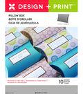 Momenta 10 pk 5.75\u0027\u0027 Design & Print Medium Pillow Boxes