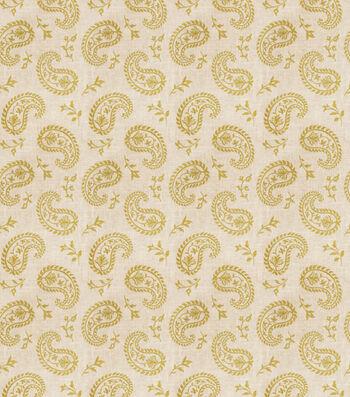 "Eaton Square Print Fabric 53""-Writing/Citrus"