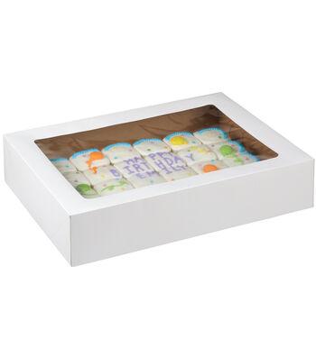 "Corrugated Cake Boxes-2/Pkg 19""X14""X4"""