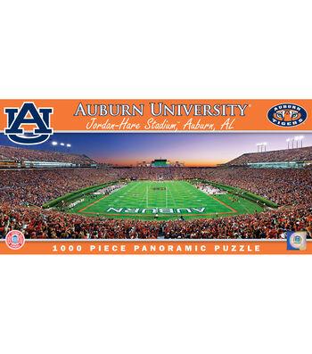 Auburn University Master Pieces Panoramic Puzzle