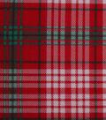 Holiday Showcase™ Christmas Cotton Fabric 43\u0027\u0027-Plaid