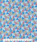 Made In America Cotton Fabric 44\u0027\u0027-Multi Dotty Floral