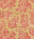 Waverly Upholstery Fabric 54\u0022-Charmed Life/Gold