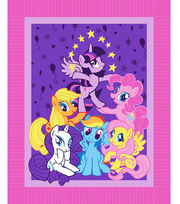 "No Sew Fleece Throw 48""-My Little Pony Pyramid, , hi-res"
