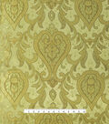 Casa Embellish Brocade Fabric 44\u0022-Large Scroll Gold