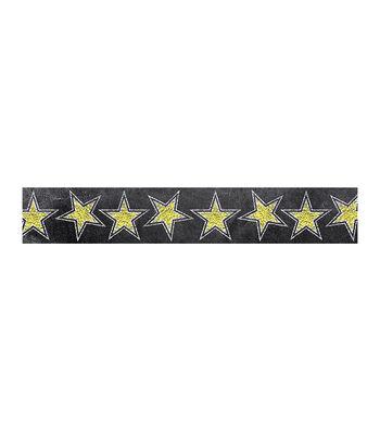 Gold Stars in Chalk Border