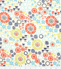 Keepsake Calico Cotton Fabric-Flowers Tossed