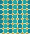 Home Decor 8\u0022x8\u0022 Fabric Swatch-HGTV HOME Round Trip Lagoon