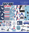 Photo Play Collection Pack 12\u0022X12\u0022-Shark Attack