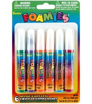 Darice Foamies Acrylic Paint Pens-Bright Colors, , hi-res