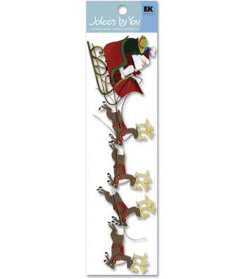 Jolee's By You-Sleigh & Reindeer