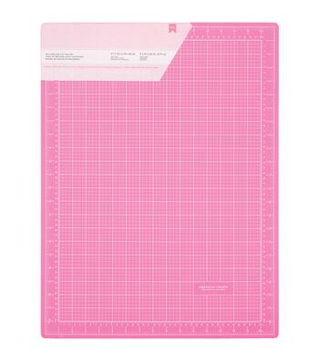 "Pink Double-Sided Self-Healing Cutting Mat 18""X24""-"