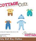 Cottagecutz Die-Baby Doll Boy Clothes 1.2\u0022 To 2.2\u0022